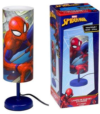 Spiderman tube nachtlamp blauw