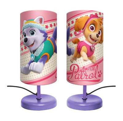 Paw Patrol tube nachtlamp Skye & Everest