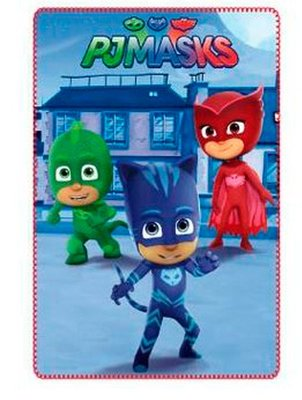 PJ Masks fleece deken Hello