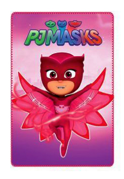 PJ Masks fleece deken Owlette