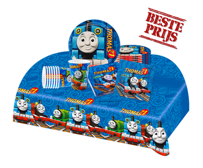 Thomas de Trein feestpakket - voordeelpakket 8 personen