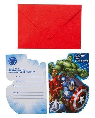 The Avengers uitnodigingen II