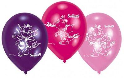Safiras feest ballonnen