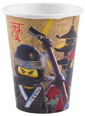 Ninjago party bekers
