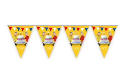 Buurman en Buurman vlaggenlijn feestslinger of slinger