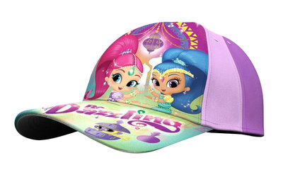 Shimmer and Shine baseball cap paars