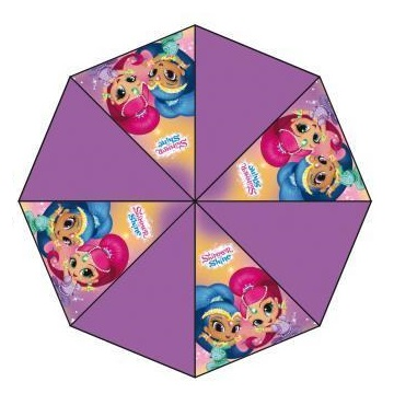 Shimmer and Shine paraplu paars