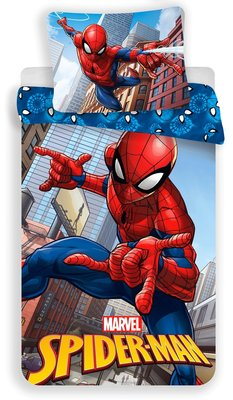 Spiderman dekbedovertrek Climbs