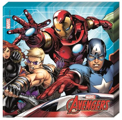 The Avengers servetten