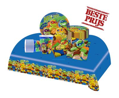 Ninja Turtles feestpakket Half Shell Helden - voordeelpakket 8 personen