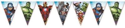 The Avengers Power feestslinger of vlaggenlijn