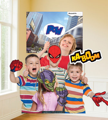 Spiderman fotoshoot accessoires set