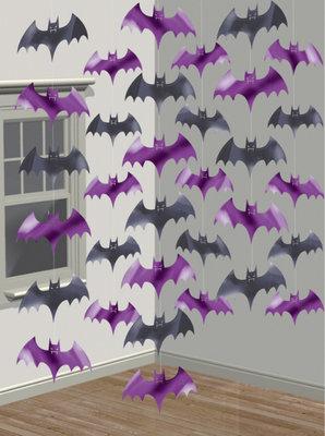 Vleermuis plafond decoratie slingers