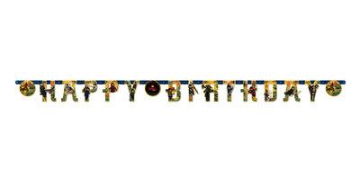 Ninjago slinger HAPPY BIRTHDAY
