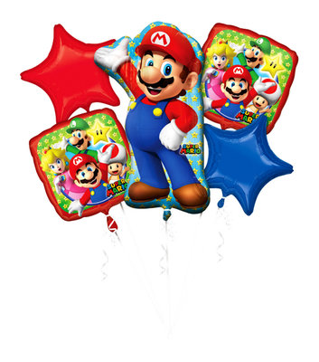 Super Mario folie ballonnen set