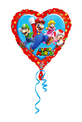 Super Mario folie ballon Hart