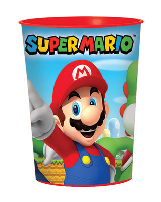Super Mario kunststof drinkbeker