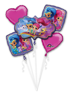 Shimmer and Shine folie ballonnen set