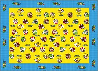 Super Mario tafelkleed plastic