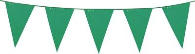 Vlaggenlijn groen unikleur