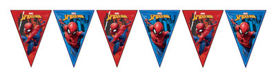 Spiderman vlaggenlijn
