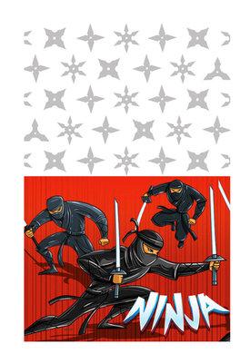Ninja tafelkleed
