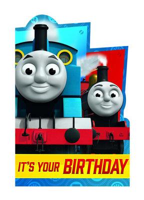 Thomas de Trein verjaardagskaart