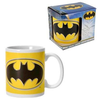 Batman mok met het bekende logo