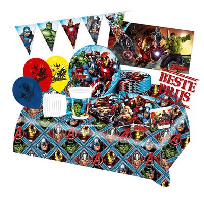 Avengers feestpakket Deluxe - voordeelpakket 8 personen