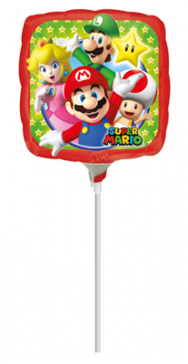 Super Mario folie ballon 23cm