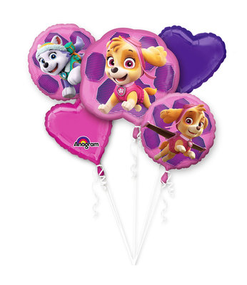 Paw Patrol folie ballonnen set Skye & Everest