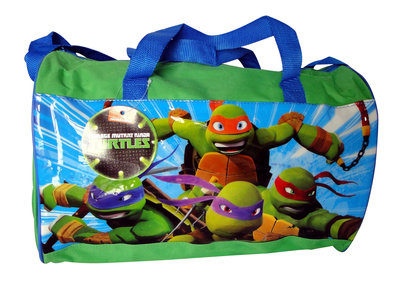 Teenage Mutant Ninja Turtles sporttas Groen