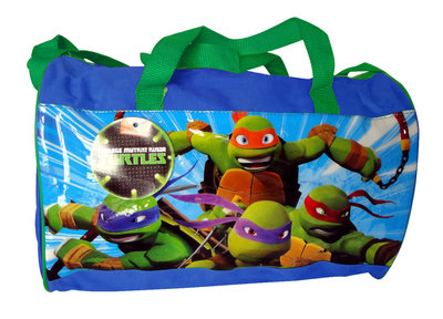 Teenage Mutant Ninja Turtles sporttas Blauw