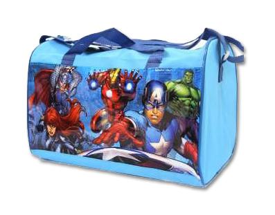 The Avengers sporttas Licht blauw