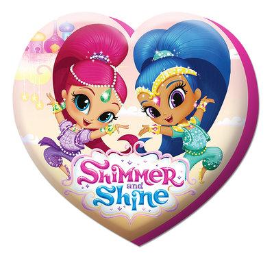 Shimmer and Shine sierkussen Hart