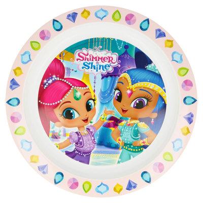 Shimmer and Shine kunststof bordje diamond