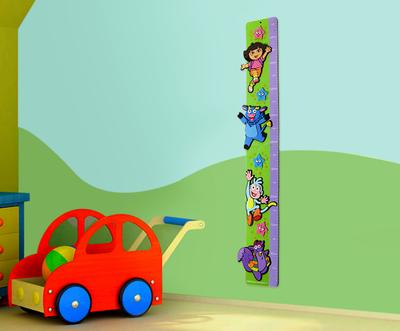 Dora Explorer wand groeimeter