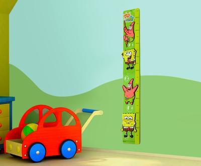 Spongebob wand groeimeter