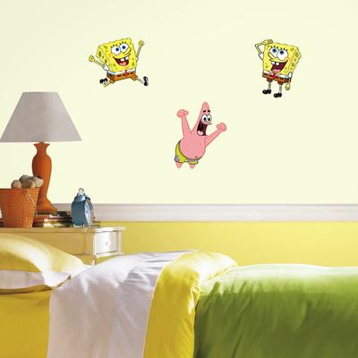 Spongebob foam wanddecoratie 3-delig