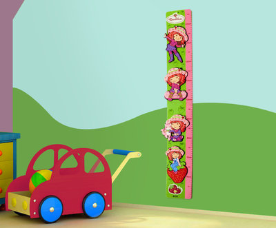 Strawberry Shortcake wand groeimeter