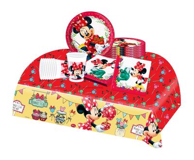 Minnie Mouse feestpakket - voordeelpakket 8 personen