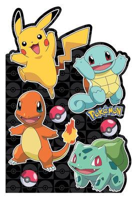 Pokemon verjaardagskaart