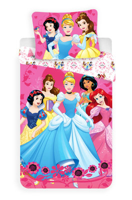Disney Princess dekbedovertrek katoen