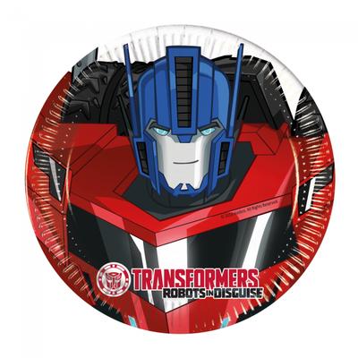 Transformers gebaksbordjes