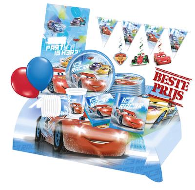 Disney Cars feestpakket Deluxe - pakket voor 8 personen
