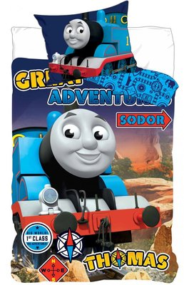 Thomas de Trein dekbedovertrek Sodor Express