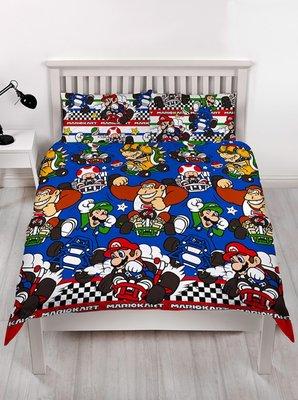 Super Mario Kart 2 persoons dekbedovertrek 200 x 200cm
