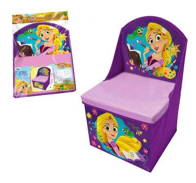 Rapunzel zitbox met rugleuning en opberg mogelijkheid
