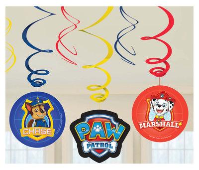 Paw Patrol plafond decoratie slingers