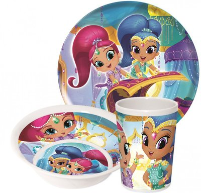 Shimmer and Shine kinderservies